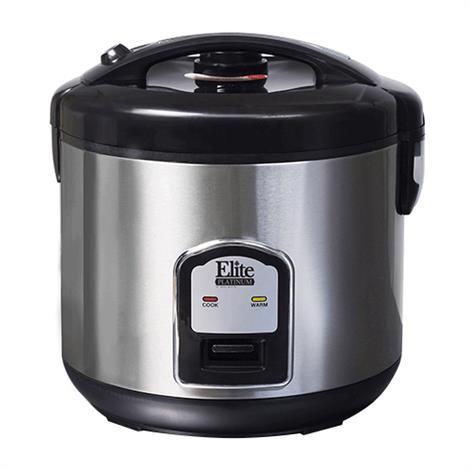 Elite Platinum Stainless Steel Rice Cooker