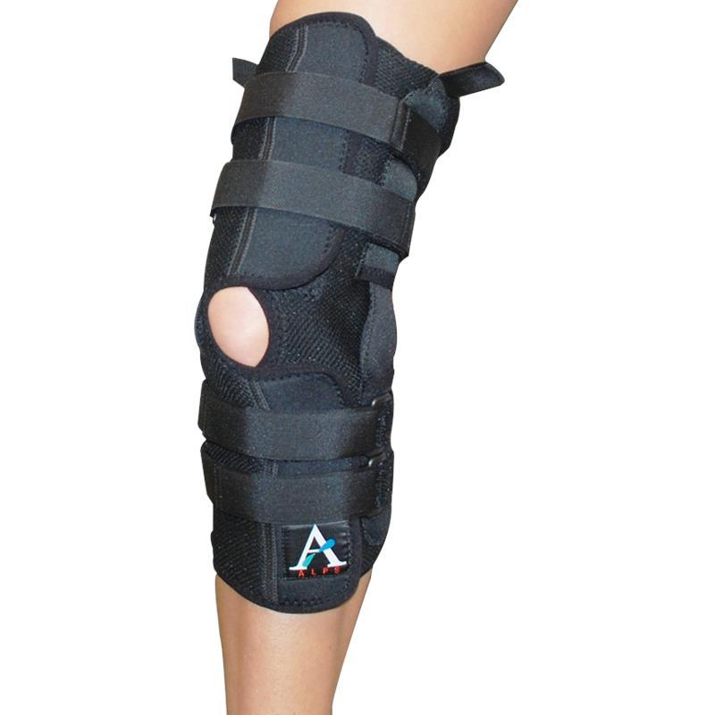ALPS Coolfit Extended Knee Brace With Hinge