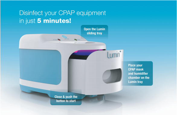 How to Operate Lumin CPAP Cleaner