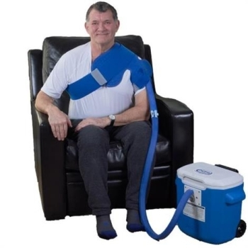 Polar Active Ice 3.0 Shoulder Cold Therapy System With 15 Quart Cooler