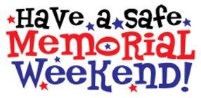Celebrate Memorial Day Safely