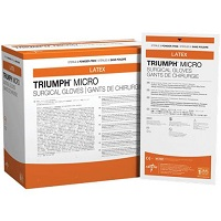 Medline Triumph Micro Latex Powder-Free Surgical Gloves