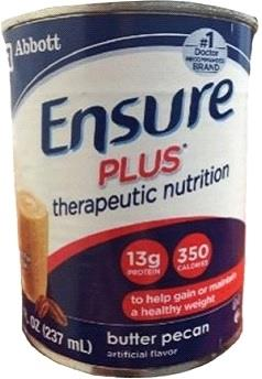 Abbott Ensure Plus Therapeutic Complete Balanced Nutrition