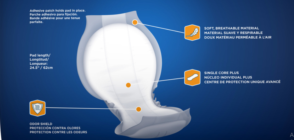 Attends Shaped Pads Technology