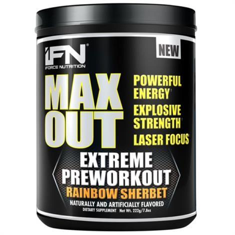 IForce Nutrition Max Out Dietary Supplement