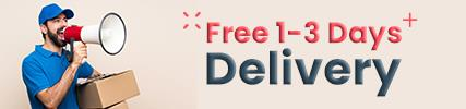 Free 1-3 Days Delivery