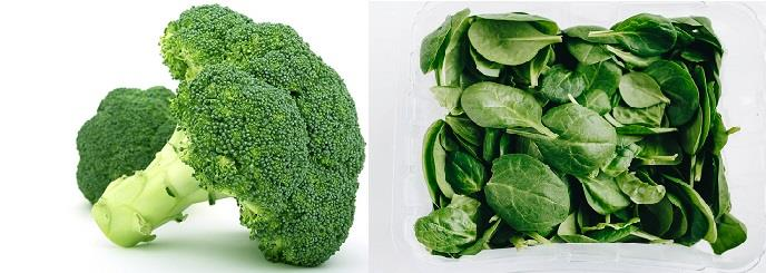 Broccoli & Spinach