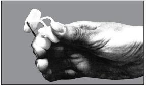 Rolyan Sof Stretch Extension Finger Splint