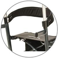 Comfortable Fabric Seat & Backrest