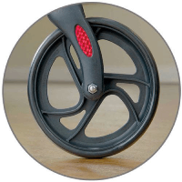 8-Inch Front Wheels