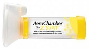 Monaghan AeroChamber Plus Z STAT Anti-Static Valved Holding Chamber With ComfortSeal Mask