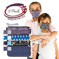 Core Reversible Petite Face Mask With Loops
