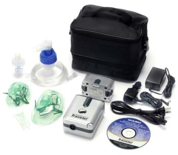 DeVilbiss Traveler Portable Compressor Nebulizer System On Sale