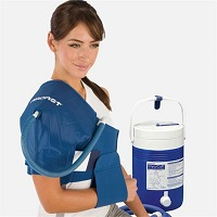 Aircast Shoulder Cryo/Cuff with Gravity Cooler