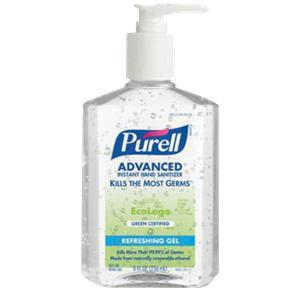 Gojo Purell Instant Hand Sanitizer Pump Bottle