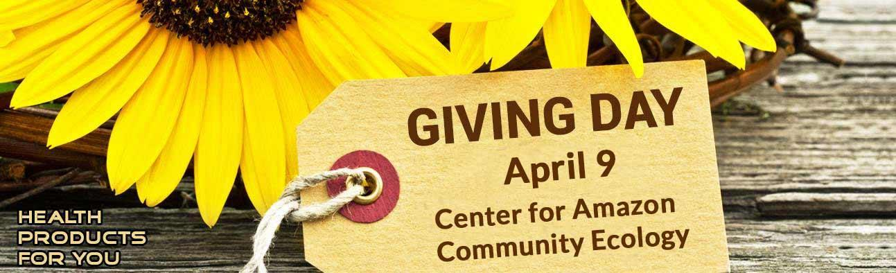 Giving Day - April 9 - Center for Amazon Community Ecology
