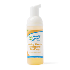 Medline HealthGuard Foaming Antibacterial Hand Soap