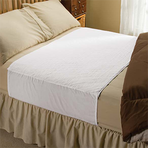 Protact your bed Using Chux and underpads