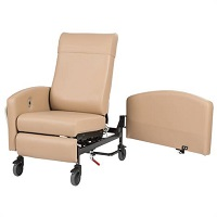 Winco Vero 5Y Series Standard Width Non Trendelenburg Care Cliner With Swing Arm
