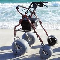 DeBug Aluminum Beach Walker