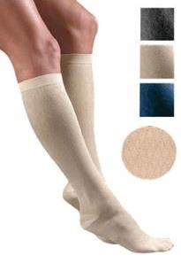FLA Orthopedics Activa Sheer Therapy 15-20mmHg Womens Patterned Dress Socks with Diamond Pattern