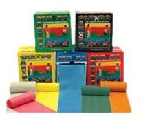 CanDo Low-Powder Six Yard Exercise Bands