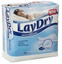 LayDry Absorbent Bed Pads For Adults