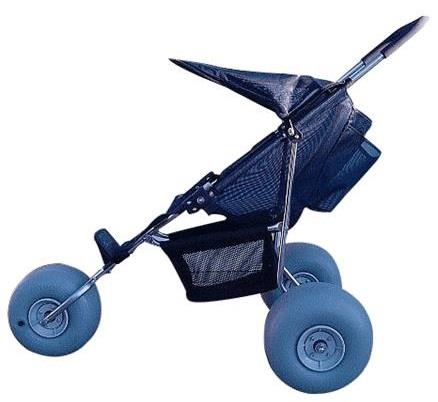 Beach Pediatric Baby Stroller With Hood