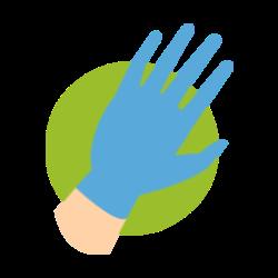 Wear Medical Gloves