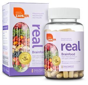 Zahler Real Multi Brainfood Dietary Supplement
