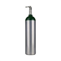 Responsive Respiratory D Oxygen Cylinder With Toggle Valve