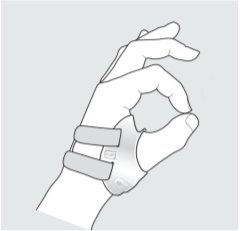How to apply Push Metagrip Thumb Brace?