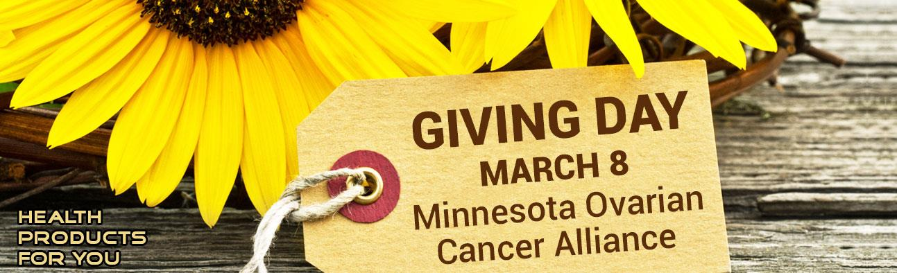 Giving Day - March 8 - Minnesota Ovarian Canver Alliance
