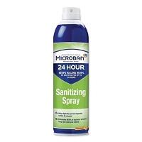 Microban 24-Hour Disinfectant Sanitizing Spray