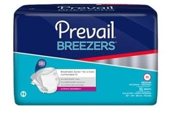 Prevail Breezers Adult Briefs - Ultimate Absorbency
