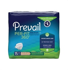 Prevail Per-Fit 360 Degree Adult Briefs