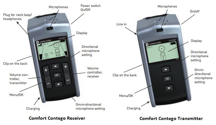Comfort Contego Digital Wireless Assistive Listening Device