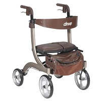 Buy Nitro DLX Four Wheel Rollator