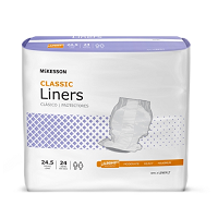 Buy McKesson Unisex Disposable Incontinence Liners