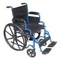 Buy Drive Blue Streak Single Axle Wheelchair