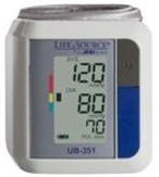 A&D Medical LifeSource Automatic Wrist Blood Pressure Monitor