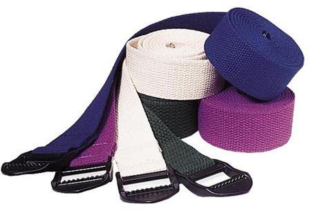 Fitterfirst Classic Yoga Strap with Plastic Buckle