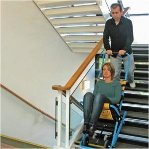 Using the Standard Evacuation Chair for Emergencies